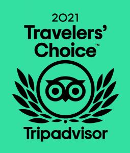 Tripadvisor Travel Choice Award 2021